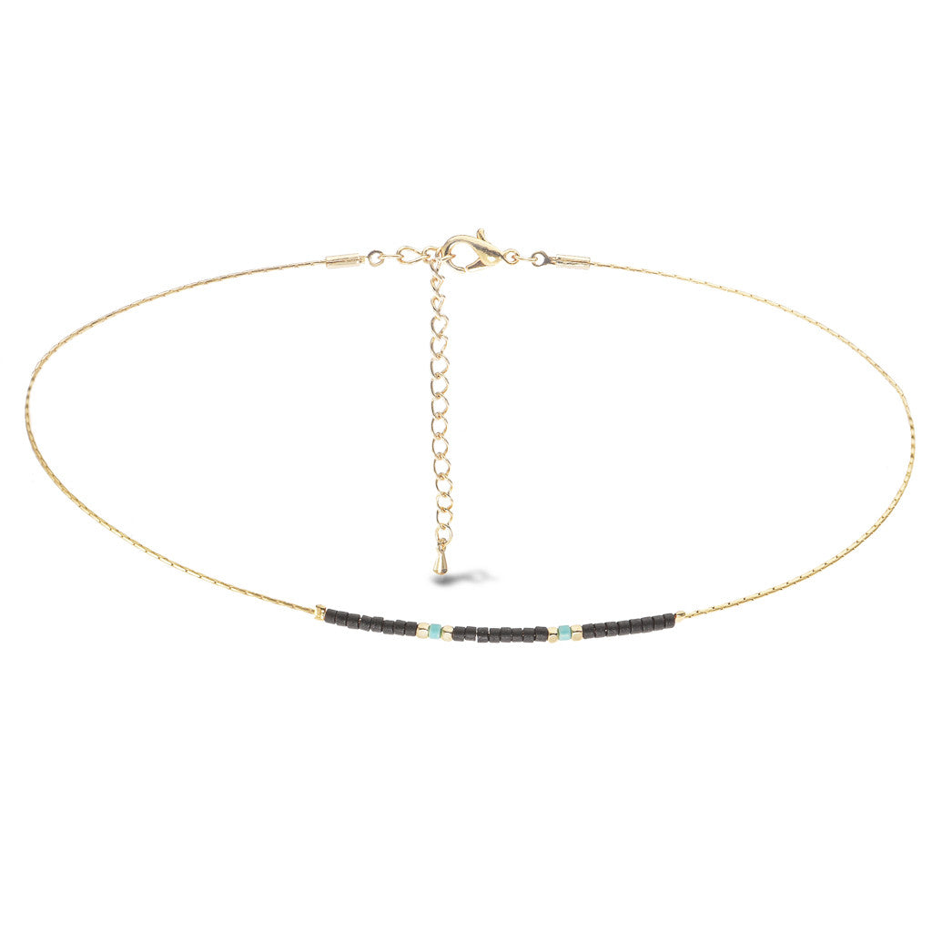 Ella Beaded Choker - Aldina Collection