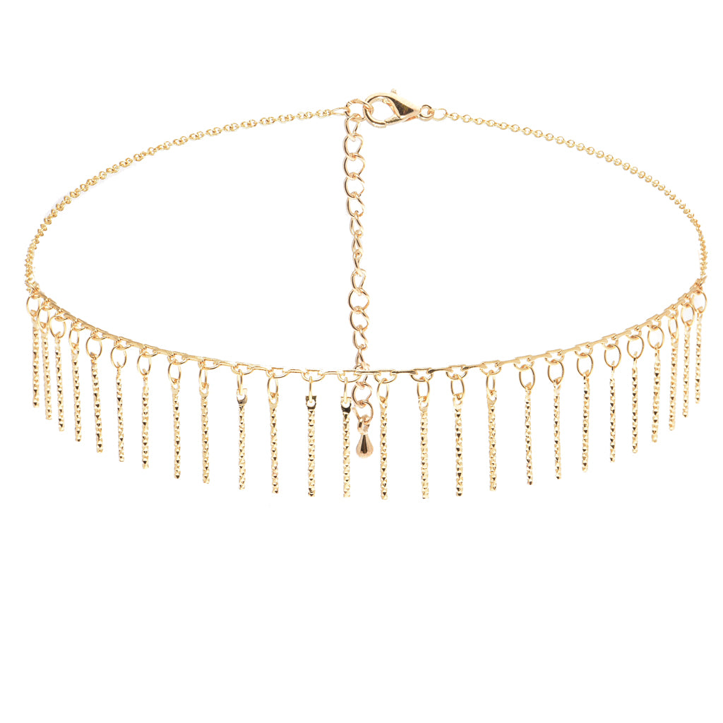 Candelabra Gold Choker - Aldina Collection