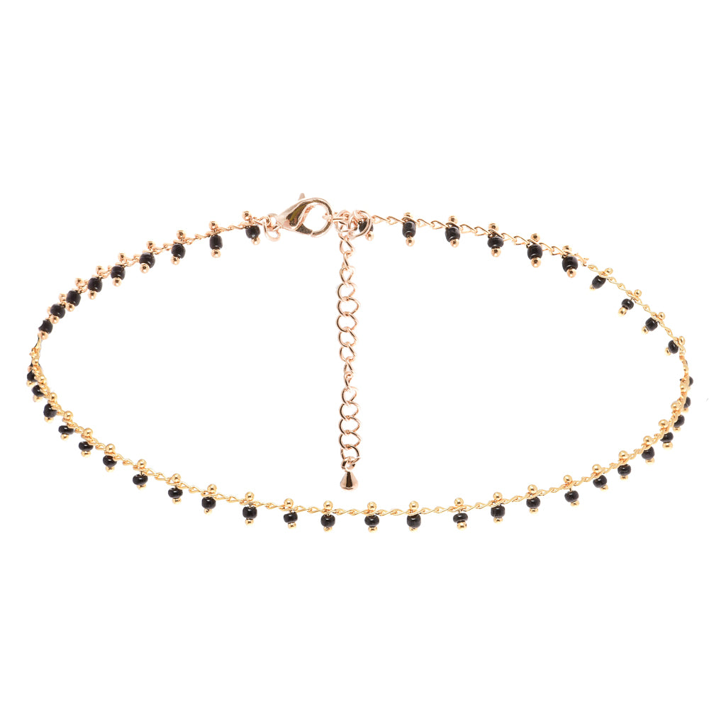 Mantra Gold Choker - Aldina Collection