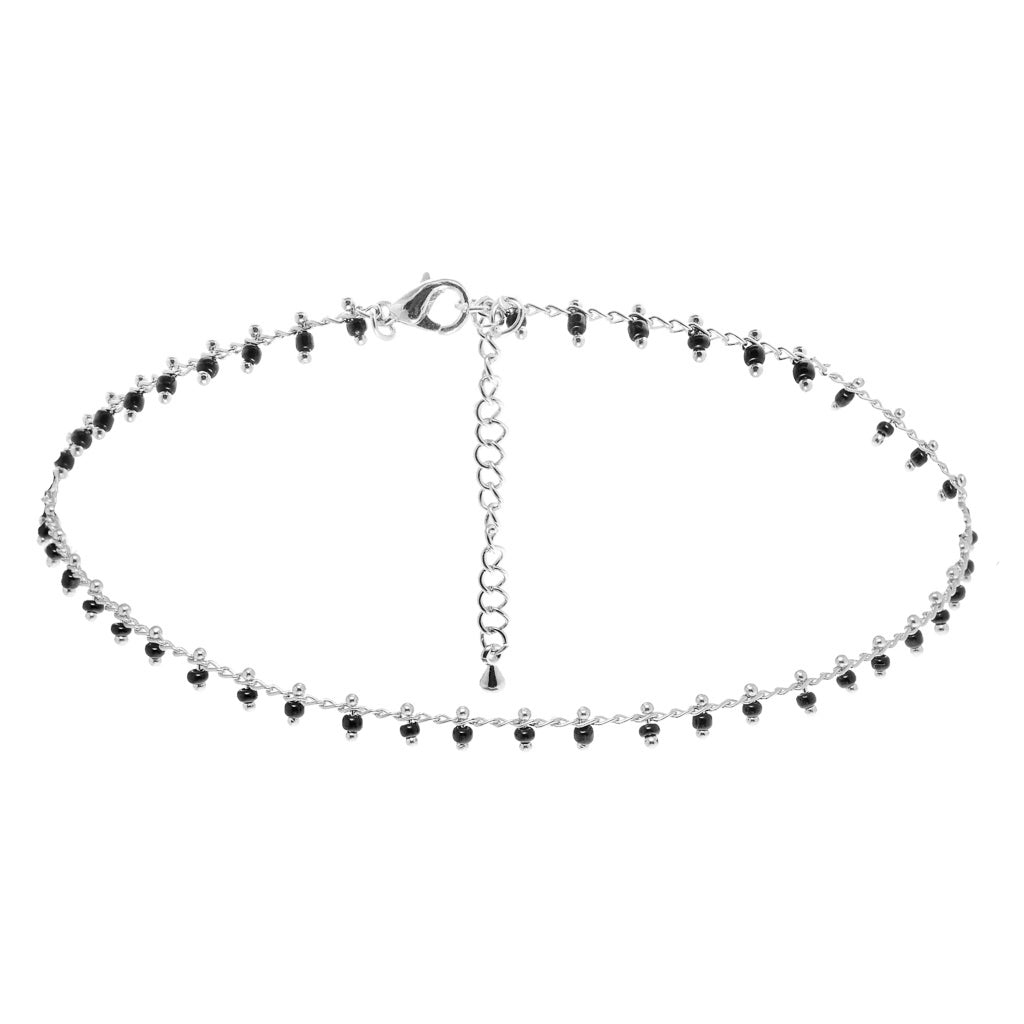 Mantra Silver Choker - Aldina Collection