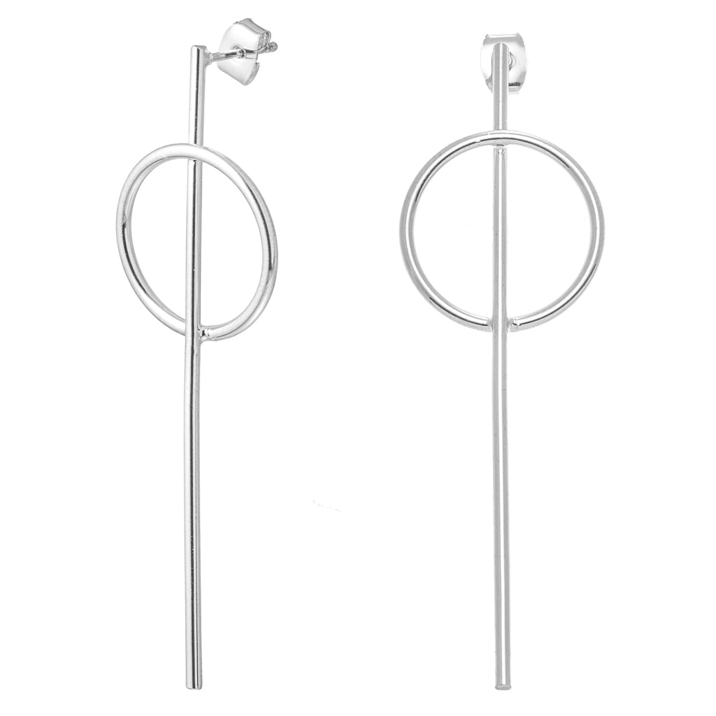 Khloe Silver Earrings - Aldina Collection