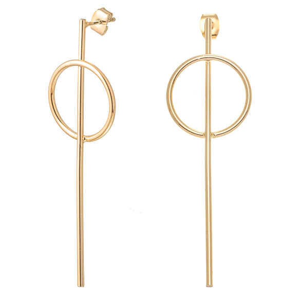 Khloe Gold Earrings - Aldina Collection