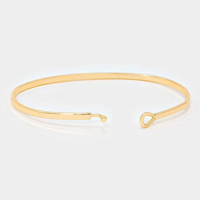 Dream Big Mantra Bracelet Gold