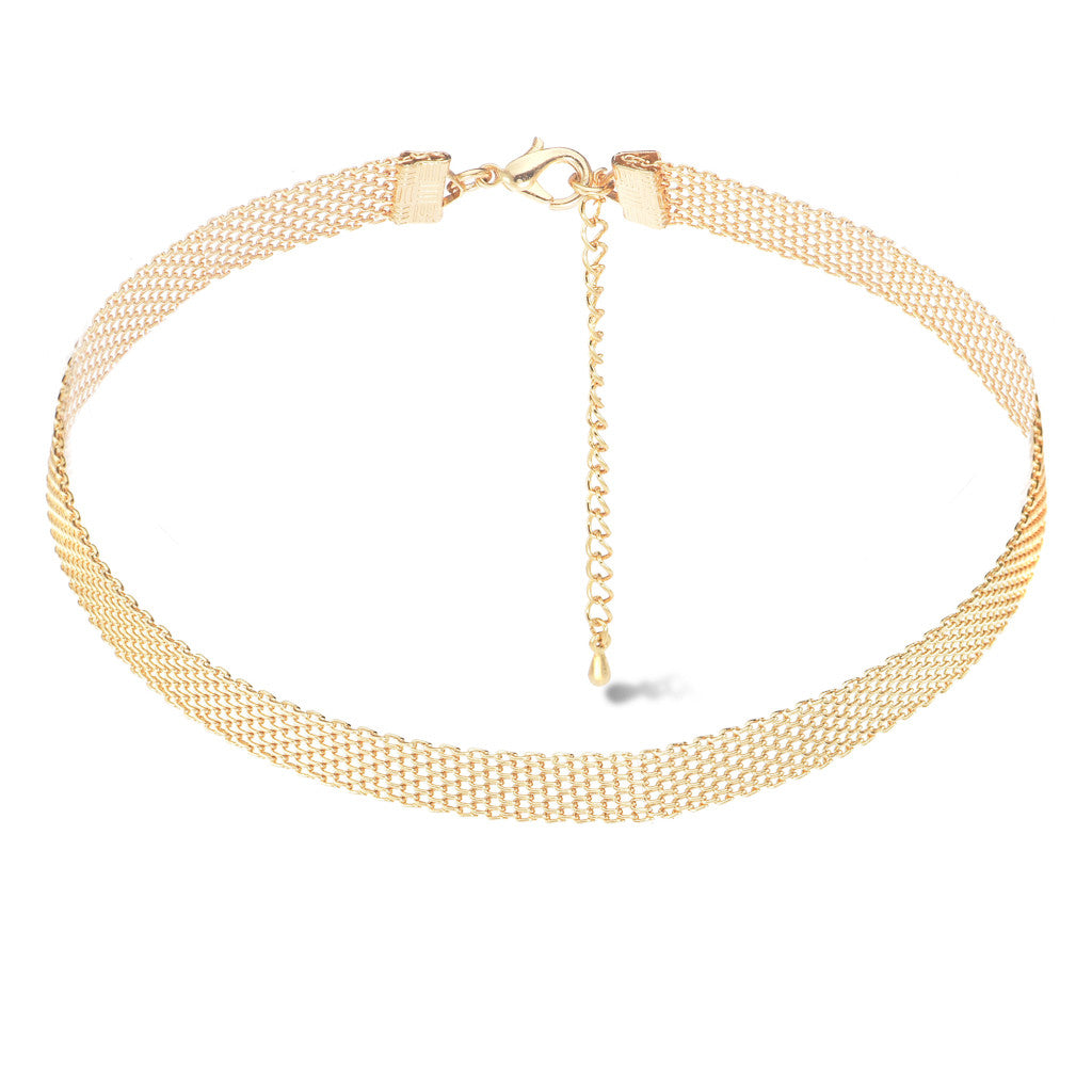 Gala Gold Choker - Aldina Collection