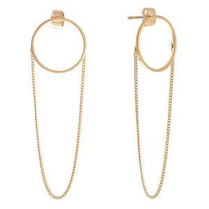 Orla Gold Earrings - Aldina Collection