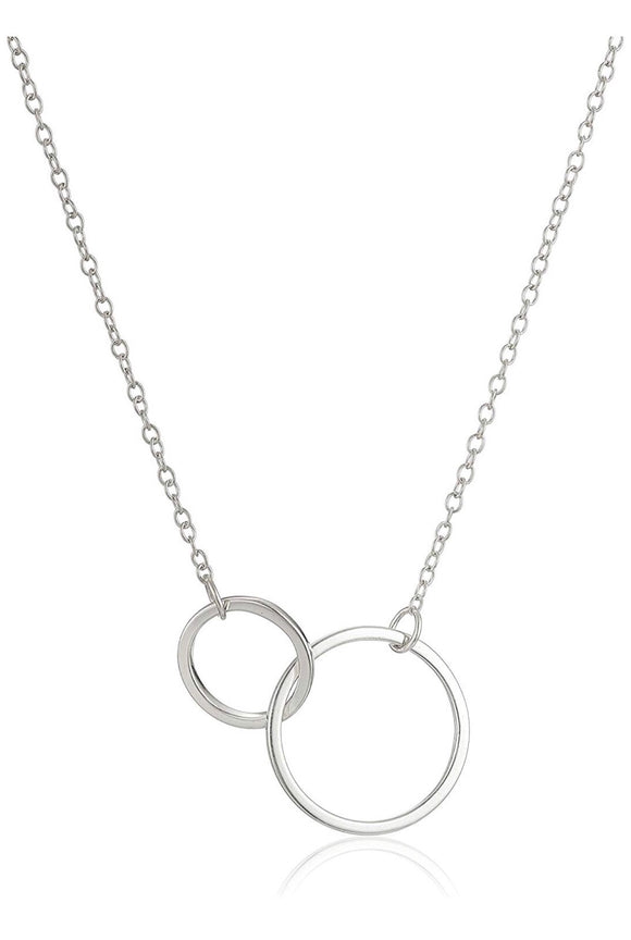 Eternity Necklace Silver