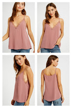 Lace layering tank ( 2 colors)