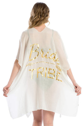 Bride Tribe Cover Up (Black or White)