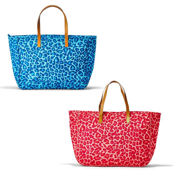 Leopard Jute Bag (2 colors)