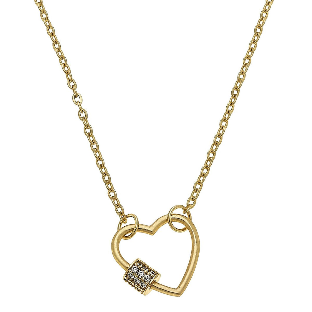 Mini Screw Lock Necklace (2 shapes)