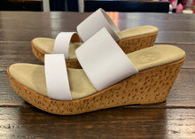 Lido Backless Wedge Charleston Shoes