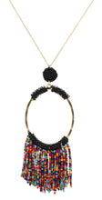 Long Beaded Necklaces (5 colors)