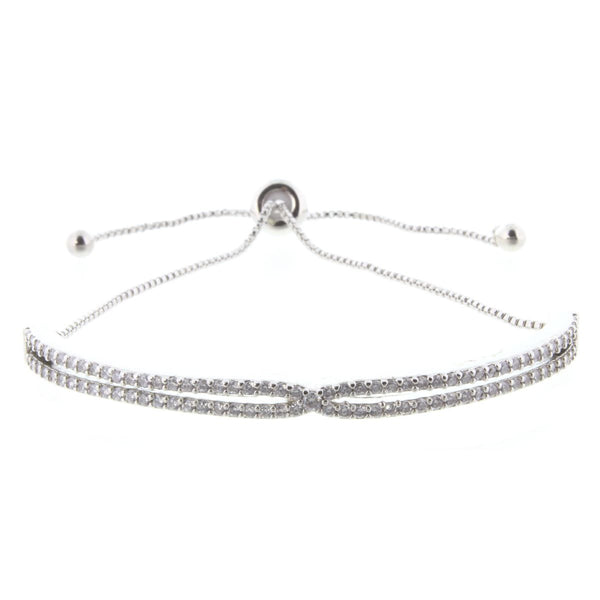 Criss-Cross Bracelet (silver or gold)