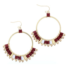 Circle/Tile/Dangle Earrings (2 colors)