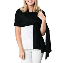 Convertible Wrap (black and ivory)