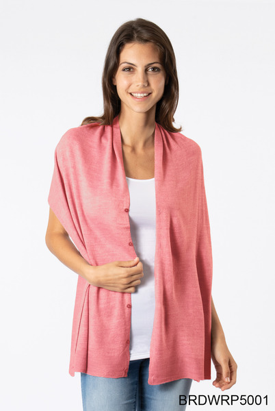 Button Bordeaux Wrap (several colors)