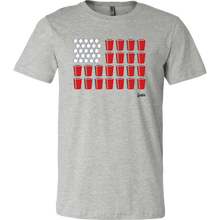 United States of Beer Pong Tee