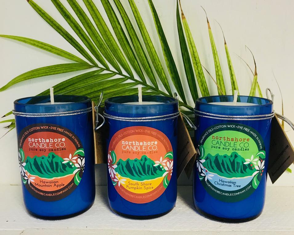Hawaii made soy wax candles!