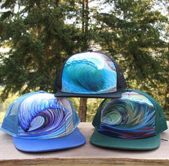 beach trucker hats