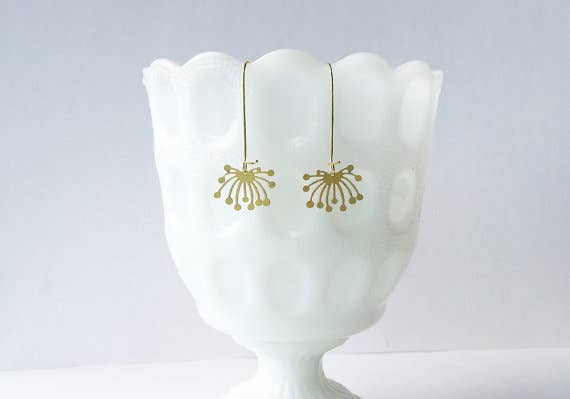 Dandelion Fluff Earrings