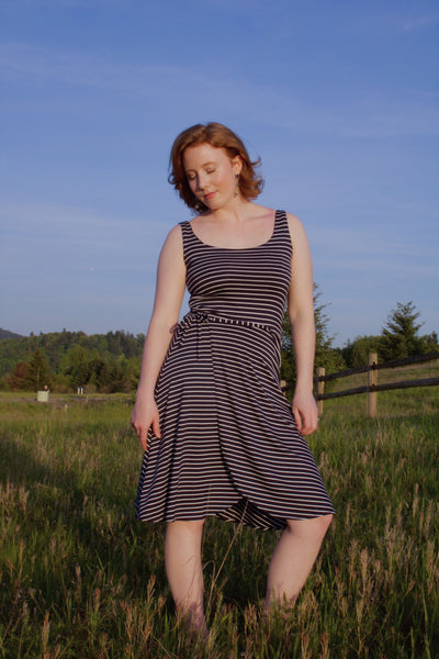 Tank Dress w/ Wrap Skirt