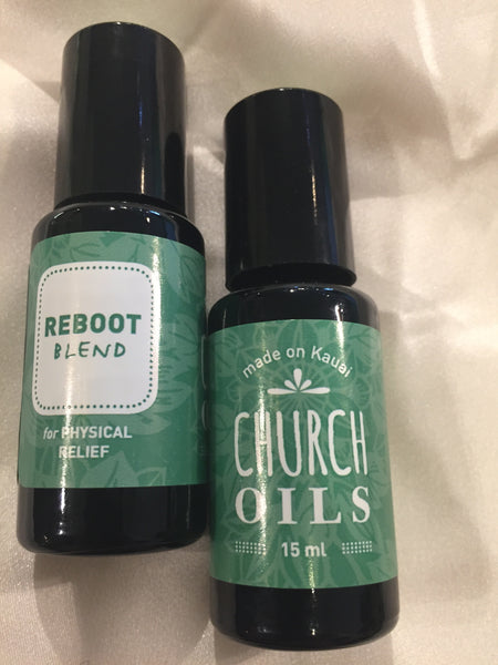 Essential Oil blends by Church Oils on Kauai