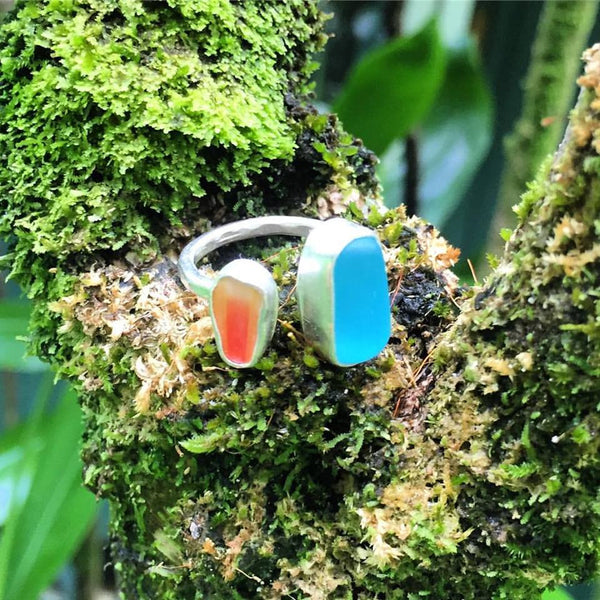 Kauai Seaglass Ring