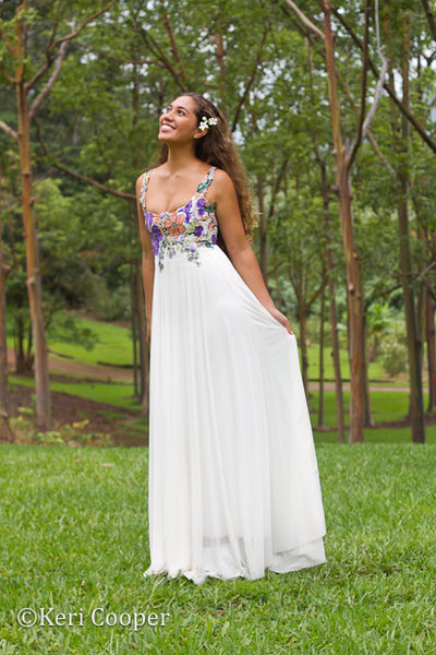 Low Scoop Bridal Gown