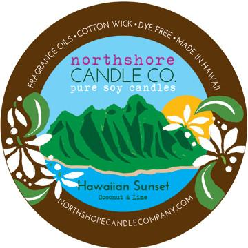 Hawaiian made soy wax candles