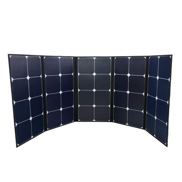 120w Portable Foldable Monocrystalline Solar Panel With