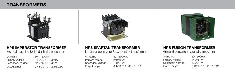Hammond Power Solutions HPS Control Transformers