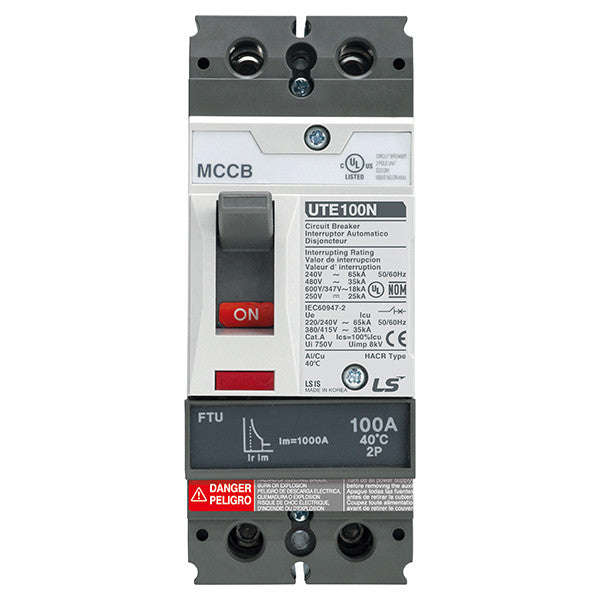 Metasol UTE100 Molded Case Circuit Breaker