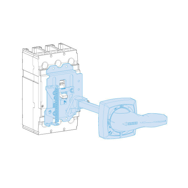 UTS150 UTS250 Rotary Handle Mechanism