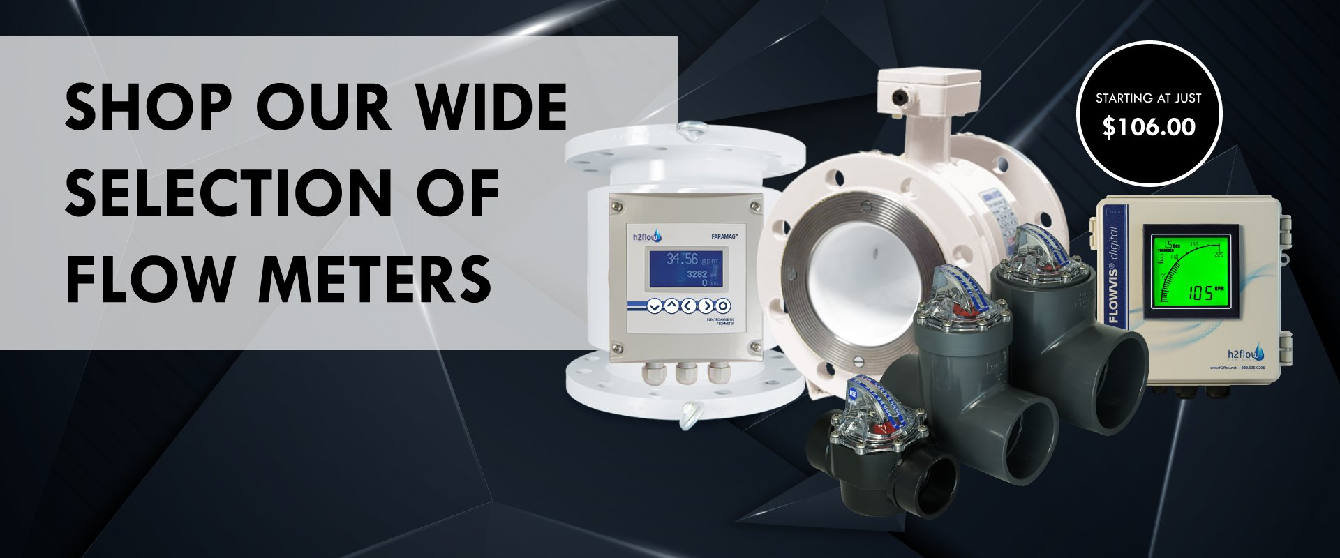 Accurate flow meters