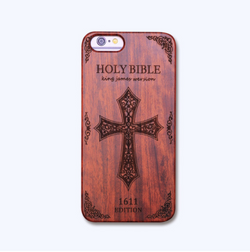 Wood Bible iPhone Case
