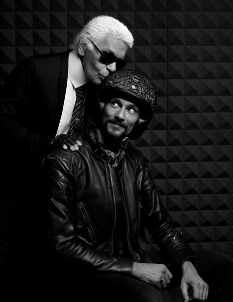 Jerôme Coste & Karl Lagerfeld - Credit: Les Ateliers Ruby