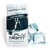Lubricante retardante masculino efecto frio refreshing - Fly Night - 2 g