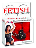 Esposas de metal con peluche Fetish Fantasy Series - Rojas - Pipedream