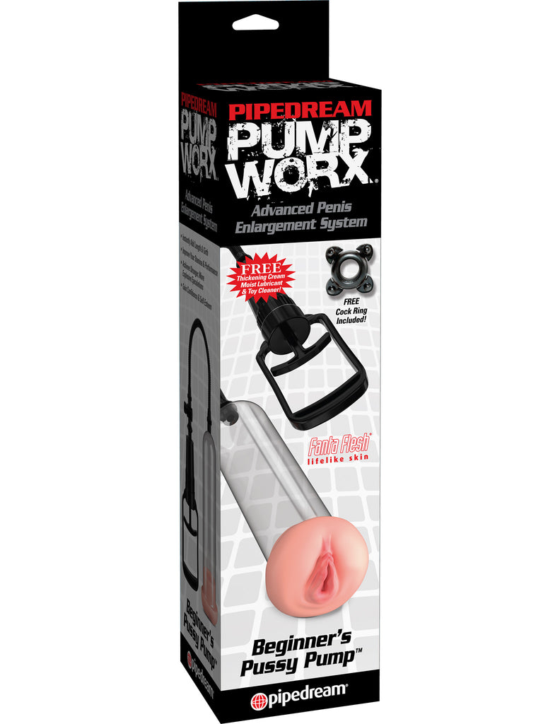 Bomba para pene Pump Worx Beginners Pussy Pump - Pipedream