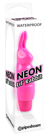 Estimulador conejito color rosa  Neon Luv Touch - Pipedream
