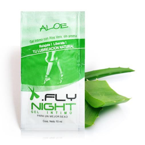 Lubricante aloe vera - Fly Night - 2 g