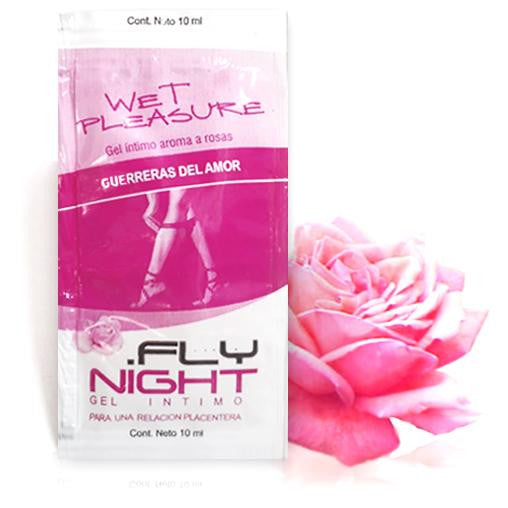 Lubricante aroma a rosas - Fly Night - 2 g