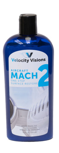 Velocity Visions Aircraft Mach 2 One-Step Surface Restore