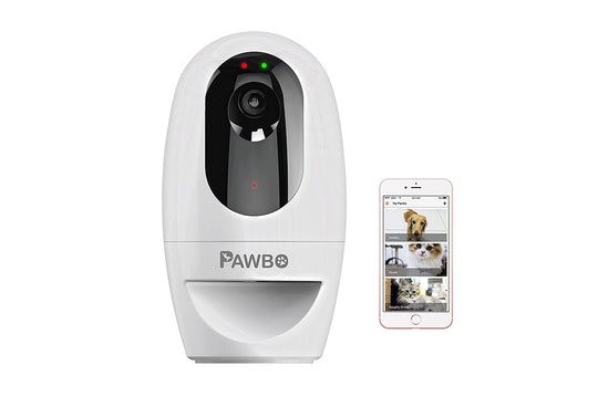 Pawbo+      The 1st 3 in 1 Wireless Interactive Pet Camera