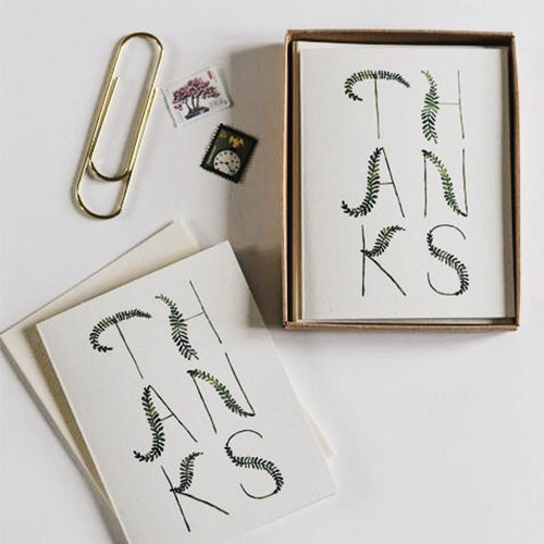 Thank You Card: Set of 8