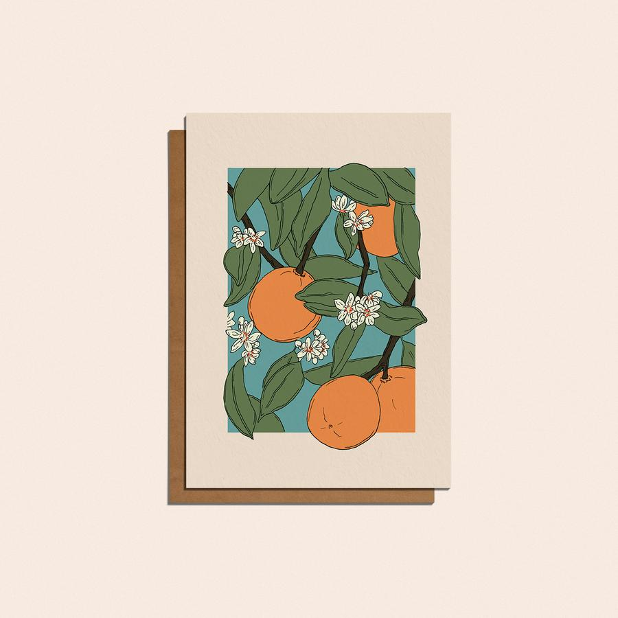 Oranges Card