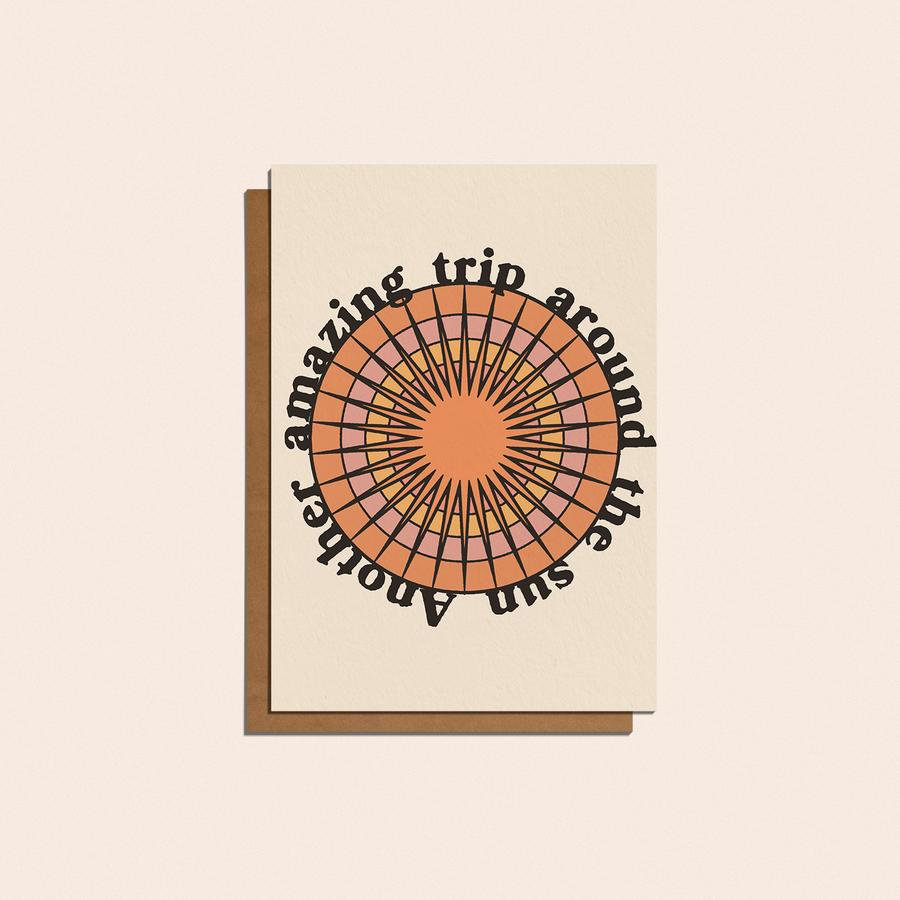 'Another Amazing Trip Around The Sun' Card