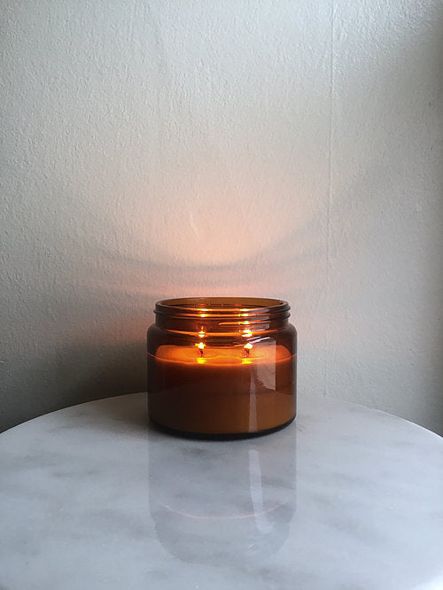 Amber Jar Woodwick Candle