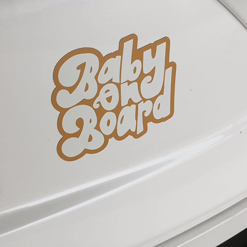 Baby on Board Car Magnet