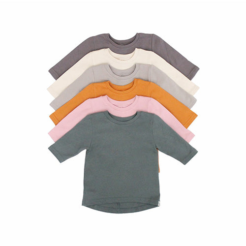 Long Sleeve Drop Back Shirt